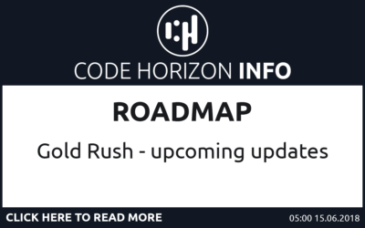 Roadmap of upcoming updates