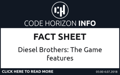 Diesel Brothers: The Game – Fact Sheet