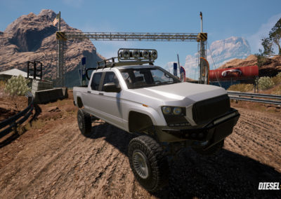Diesel Brothers: Truck Building Simulator - Offroad Race